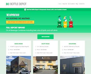 BC Bottle Depot company
