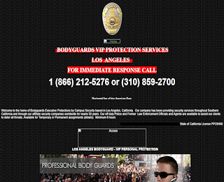 Executive Protection Los Angeles