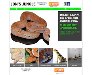 Exotic Reptiles International Export